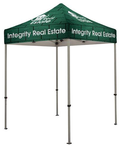 6' x 6'- kiosk- tent- 6' x 6' kiosk tent- outdoor- display- outdoor display- local- trade show- VA- Undercover Printer