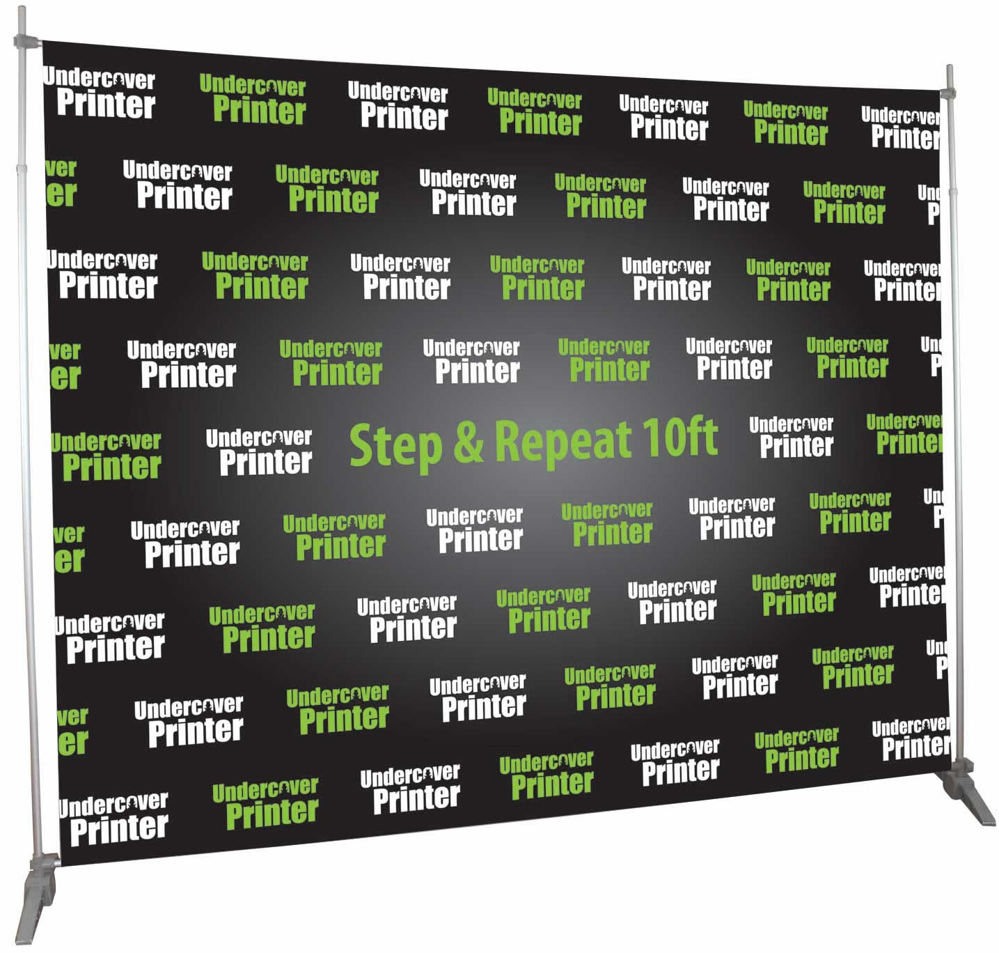 economy- step & repeat- 10ft- back wall- display- trade show- local- VA- Undercover Printer
