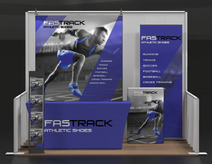 table top kit- display- trade show- booth- trade show booth- local- VA- Undercover Printer