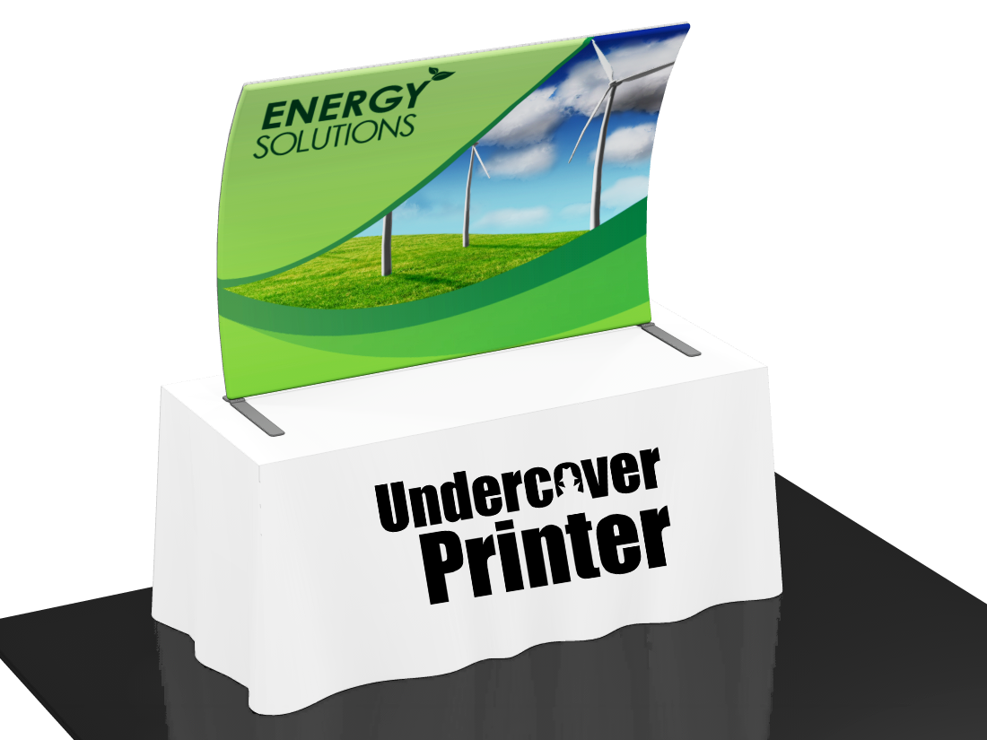 Fabric- table top- banner- display- local- VA- trade show- Undercover Printer