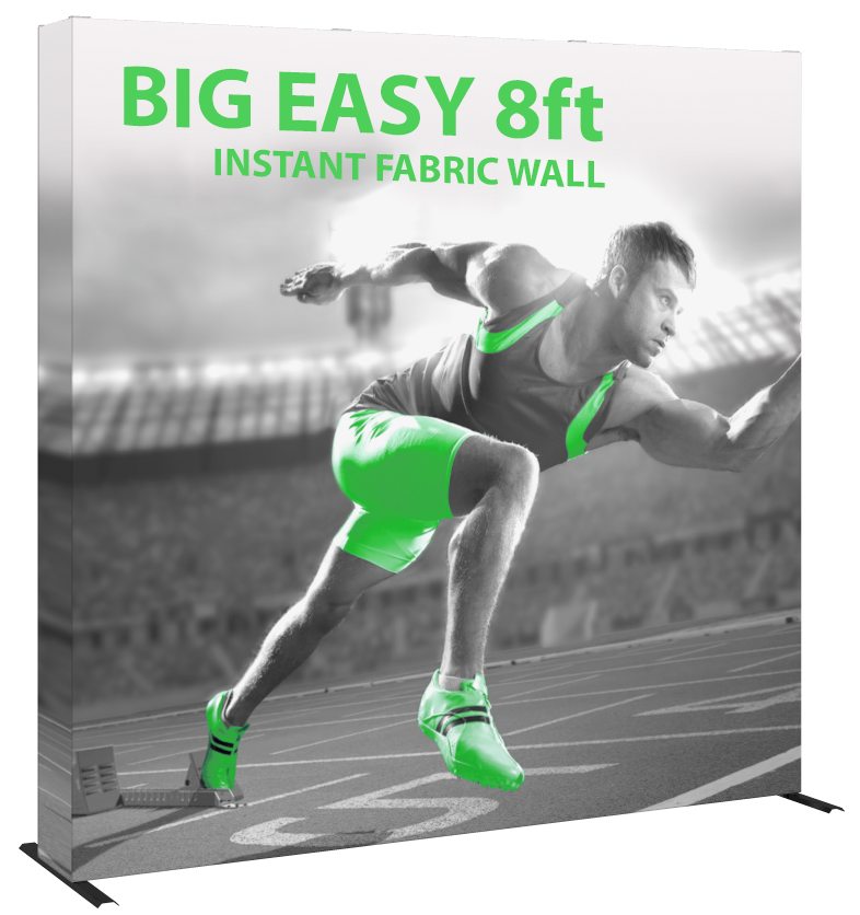 Big Easy- back wall- display- local- trade show- VA- Undercover Printer