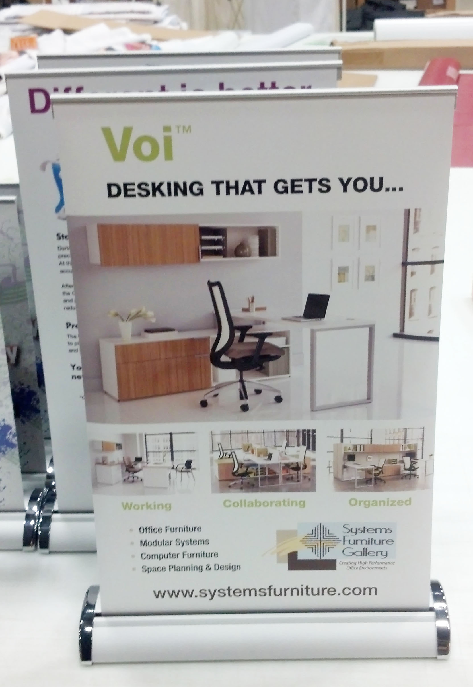 office furniture trade shows. systems furniture gallery chantilly va see more banner stands office trade shows f